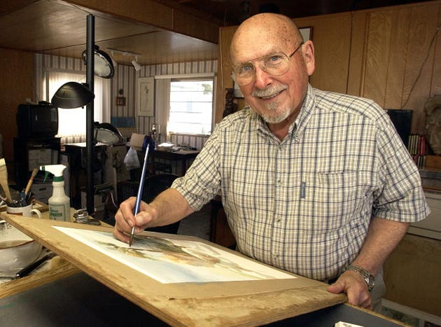 <p>Longtime Santa Maria artist Nat Fast, who died in October, will be celebrated Jan. 26 when the Santa Maria Valley Discovery Museum holds its fourth annual Nat Fast Day for young artists.</p>