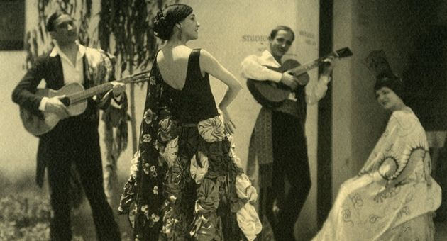 Fiesta, circa 1925. (Santa Barbara Historical Museum photo)