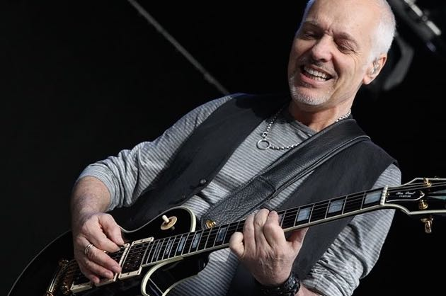 Peter Frampton, shown here at the Santa Barbara Bowl in 2011, will be playing at the 5th Annual Notes For Notes Benefit Concert on Sunday at the Lobero Theatre.