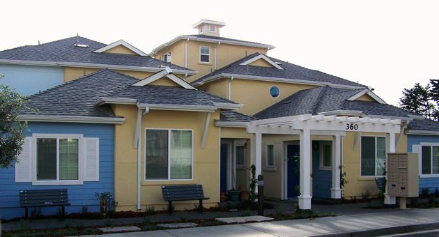 <p>Peoples' Self-Help Housing's 14-unit multifamily development is the first newly constructed affordable rental complex in the City of Pismo Beach. (Peoples' Self-Help Housing photo)</p>
