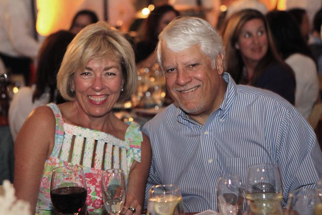 Melissa and Ralph Iannelli at the Bishop Diego High School auction. (Bishop Diego High School photo)