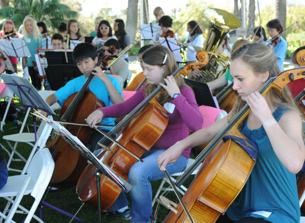 The Santa Barbara Youth Symphony will be performing its annual Winter Concert at 3 p.m. Sunday at the Music Academy of the West. (Santa Barbara Youth Symphony photo via Facebook)