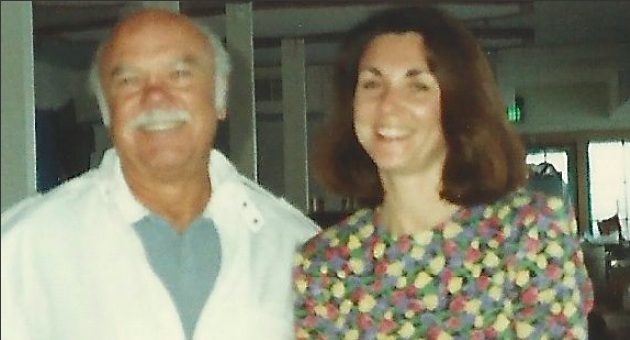 Meredith Scott and her dad, Sherman Pearl. (Scott family photo)
