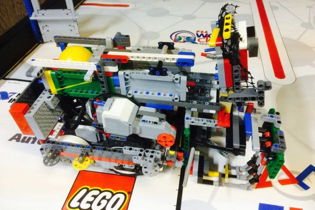 Team FLL & Beyond: 2 squared + 3's robot has been dubbed 'Infinity.' (Ri-Pen 'Rip' Chou photo)