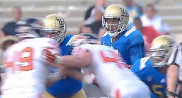 <p>UCLA quarterback Brett Hundley has had better games than he did against Oregon State, but the Bruins&#8217; athletic prowess is bigger than any one sport. Besides, the Sons of Westwood bounced back against Colorado in a big way.</p>