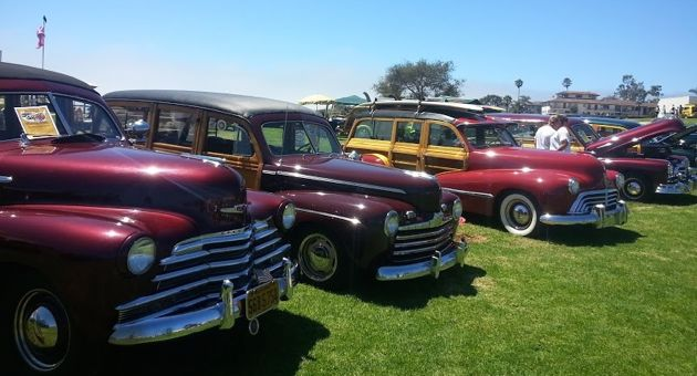 The Santa Barbara Woodie Club celebrated
