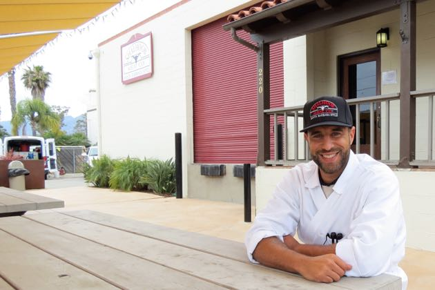 L.J. Shalhoob believes his family's Shalhoob Meat Co. will add some authentic local flavor to the Funk Zone foodie scene. (Gina Potthoff / Noozhawk photo)