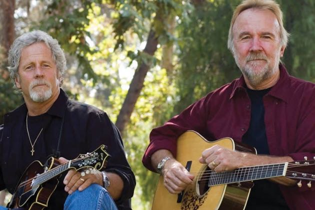 Chris Hillman, left, and Herb Pedersen will perform at the Plaza Playhouse Theater in Carpinteria on Sunday