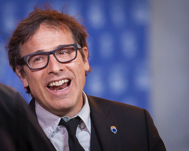 <p>The Santa Barbara International Film Festival presented David O. Russell with the Outstanding Director Award on Friday evening. The festival runs through Feb. 9.</p>