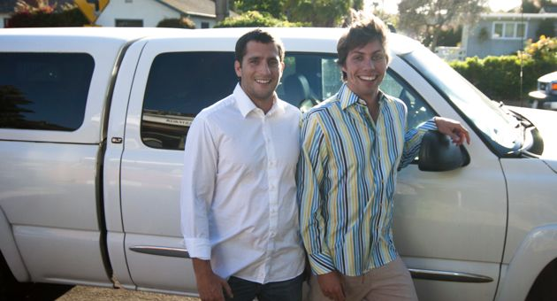 <p>NextMover co-founders Alex Kehaya, left, and Max James wanted to find a solution to customers who were getting overcharged for lesser-quality moving work. They came up with an UBER-like online platform that caters to college students or those buying items from retail stores.</p>