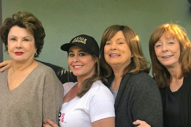 The women behind Montecito's Recovery Project are, from left, Susan St. John, Heather Sage, Berna Kieler and Cathy Link. The initiative's pop-up shop in the Montecito Country Mart is serving flash flood survivors through the end of the month.