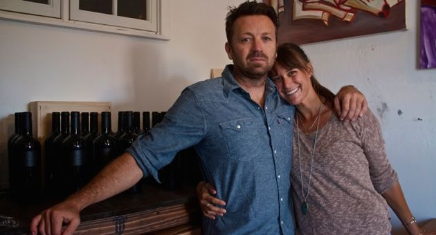 <p>Emily Rosendahl and Rob DaFoe are proving that leather goods and wine are a good pairing — and it's been good for their relationship, too. The couple is getting married later this month.</p>