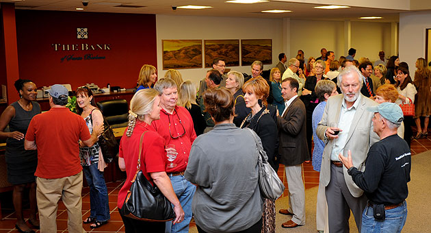 Noozhawk fans gathered at The Bank of Santa Barbara to hear about the local news site's new initiatives.