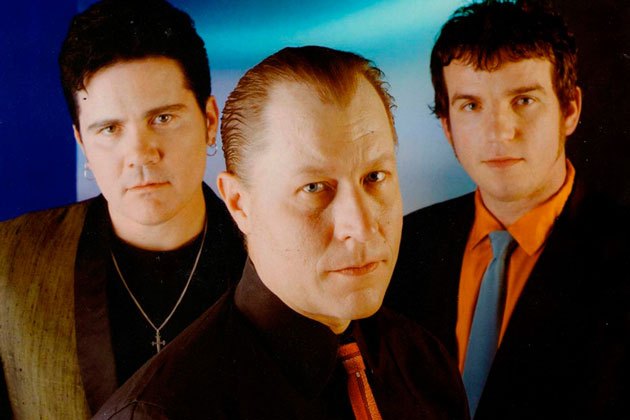 From left, Jimbo Wallace, Jim Heath and Scott Churilla, aka Reverend Horton Heat, will perform Saturday at the Majestic Ventura Theater, with special guest Jello Biafra joining in for a few songs. (Reverend Horton Heat photo)