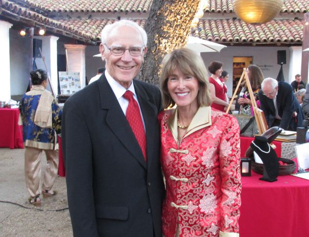 Anne and Michael Towbes represented Montecito Bank & Trust, the Good Fortune benefit's top sponsor. (Rochelle Rose / Noozhawk photo)
