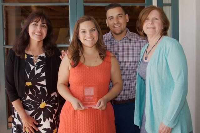 Santa Barbara Cottage Hospital emergency room nurse Vanessa Gonzalez, RN, BSN, earned an Award for Nursing Excellence from the Bialis Family Foundation.