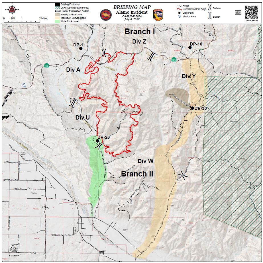 County Line 2 Fire Map.Alamo Fire Nearly Doubles In Size Overnight To 6 000 Acres Local