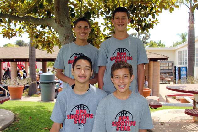 Ryan Childress, 15, Bryan Demesa, 14, Jason Davis, 14, and Dylan Street, 13.