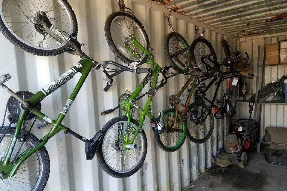 The River Bend Bike Park Committee Had Been Storing Extra Bicycles In A Storage  Shed At ...