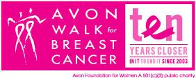 Avon Walk for Breast Cancer Saturday, September 22nd