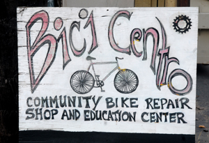 A recent fundraising campaign brought Bici Centro more than $40,000 in just two months. The funds helped secure its new location. (Gina Potthoff / Noozhawk photo)