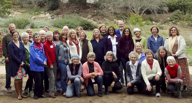 Graduates of the California Naturalist Program's 2012 class at the Santa Barbara Botanic Garden. (Joni Kelly / Santa Barbara Botanic Garden photo)