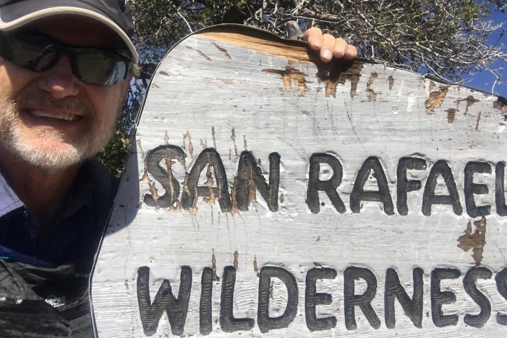 Brian Sarvis, a former superintendent of the Santa Barbara Unified School District, is enjoying hitting the hiking trails in retirement.