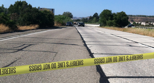 <p>A burglary suspect shot dead by a Santa Barbara County sheriff&#8217;s deputy after ramming his patrol car on the Santa Ynez River bridge near Buellton had a criminal history, but mainly for nonviolent drug offenses.</p>