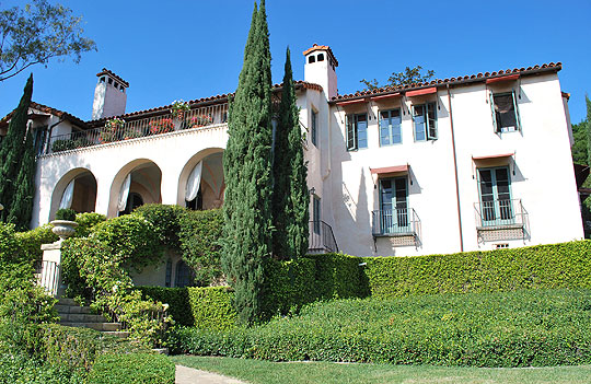 La Quinta in Montecito, designed by Carleton Winslow in 1922, is a stately example of Santa Barbara's Mediterranean era.