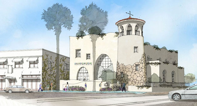 <p>An artist&#8217;s rendering shows what the Children&#8217;s Museum of Santa Barbara will look like. The facility is targeted to open in June 2016.</p>