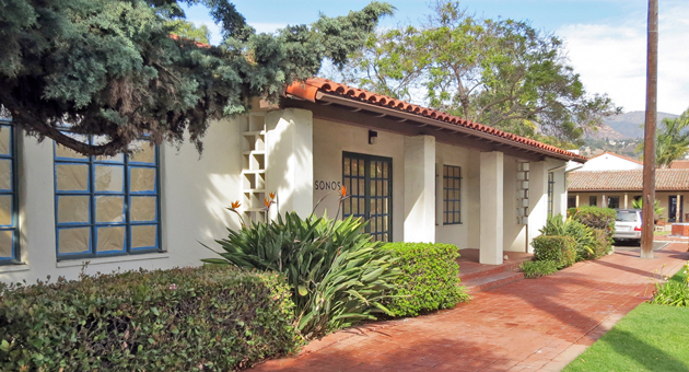 <p>This commercial property at 800 Santa Barbara St. in Santa Barbara sold during the third quarter, as commercial real estate experienced one of its best quarters for sales in recent years.</p>