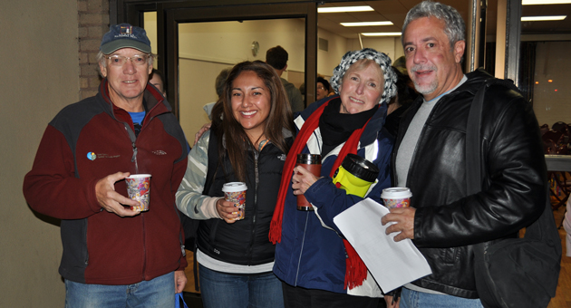 Some of the volunteers from the 2011 homeless survey conducted by Common Ground of Santa Barbara. (Andrew Gonzales / Housing Authority of the City of Santa Barbara photo)
