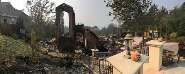 Former Solvang City Manager Marlene Demery said her Italian-style home was her dream house and it can be rebuilt after it was destroyed in the Tubbs Fire in Santa Rosa.