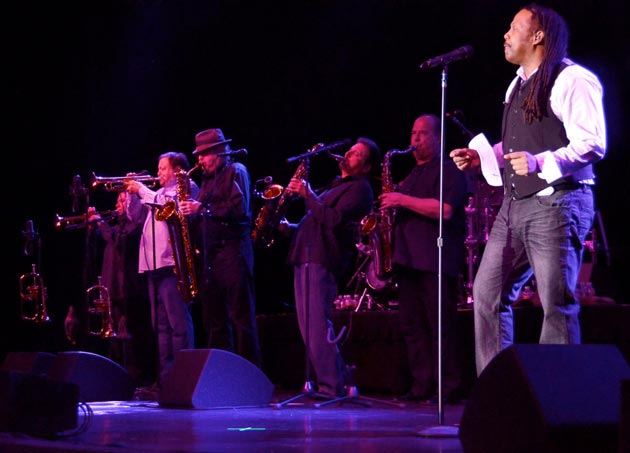 Tower of Power at the Chumash Casino Resort. (Gary Lambert / Noozhawk photo)