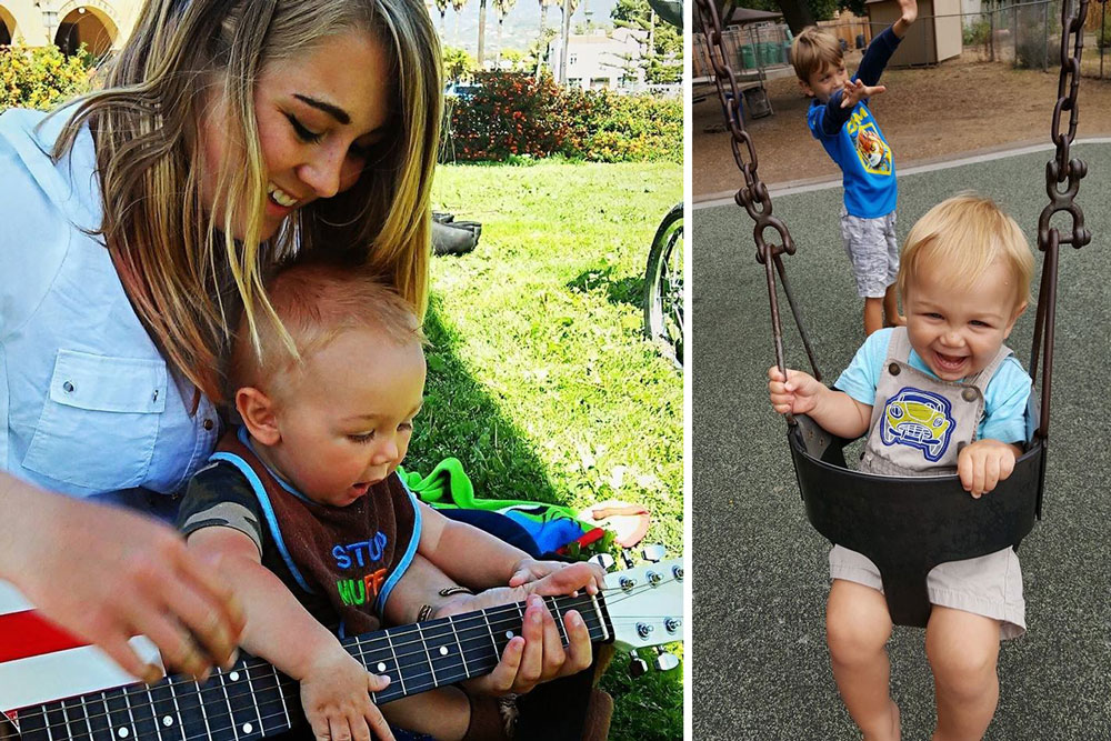 Struggling single mom Dani Hearn had reached out for help with her son, Lukas, and found so much more in return. (Mothers' Helpers photos)
