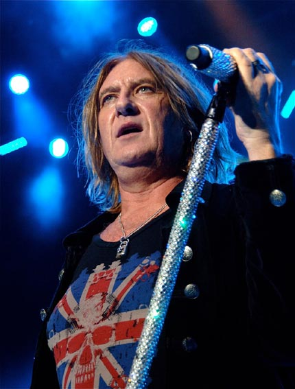 Joe Elliott and the rest of Def Leppard rock the Santa Barbara Bowl on Sept. 15, 2012.