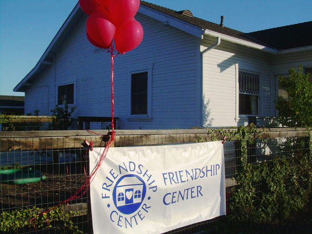 The exterior of the new Friendship Center at Oak Unitarian Universalist Congregation on North Fairview Avenue in Goleta.