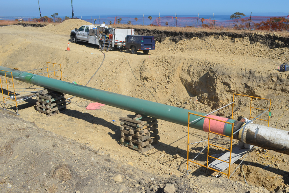 Plains All American Pipeline Filed An Lication Tuesday With Santa Barbara County To Replace Its Line