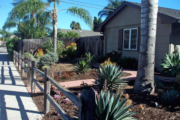 Hundreds of Goleta residents have replaced their lawns and made other landscaping changes to cut back on water use.