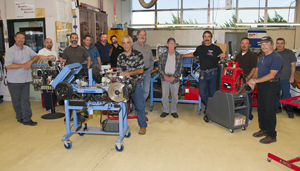 Industrial technology program faculty pose during a recent meeting at Allan Hancock College. (Allan Hancock College photo)