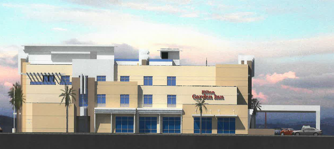 Hilton Garden Inn developers went to the Goleta Design Review Board for approval of revisions to the project, including increasing the building height and adding more balconies.