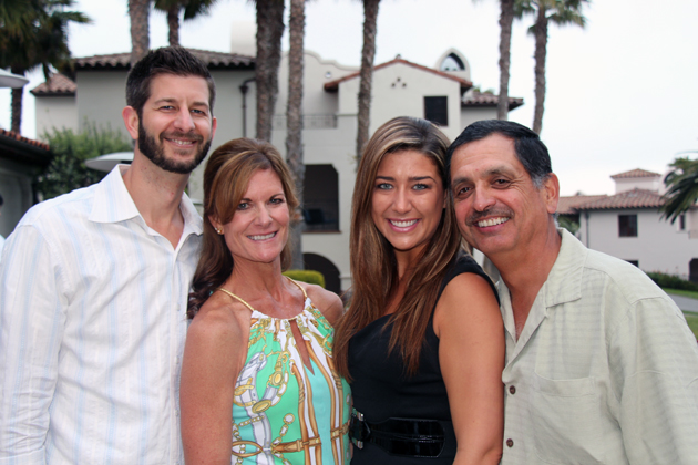 Nick Hewes, left, Debra Powell, Tiffany Torrente and Mark Gonzalez.
