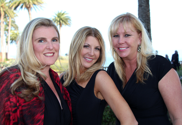 Sarah Jaimes, from left, Dawn Spoul and Michele Talkington of Cox Media.