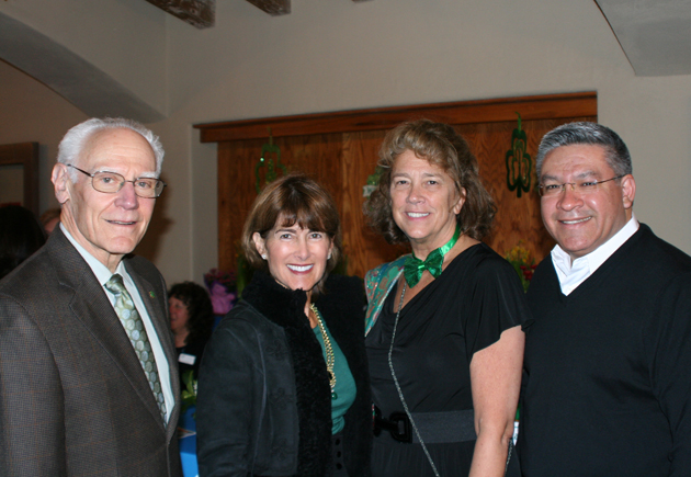 From left, Michael and Anne Towbes with Boys & Girls Club of Santa Barbara Executive Director Carolyn Brown and Santa Barbara County First District Supervisor Salud Carbajal.