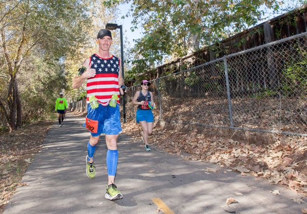 Santa Barbara Veterans Day Marathon.