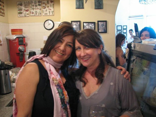Lulu Figueroa store manager and Ann Addis