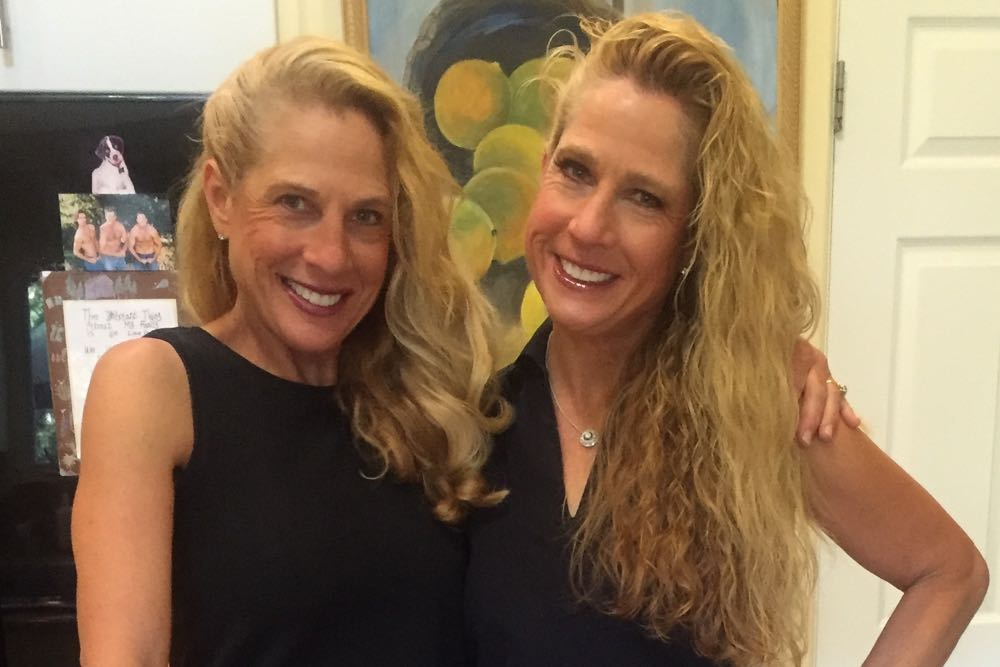 "In their new book, The Memory Diet, Judi, left, and Shari Zucker take a hard look at dementia and other memory-related conditions. ""You only have one body in this life, so take care of it,"" they advise. ""Then it will take care of you when you get older."""