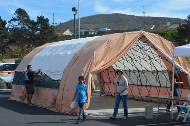 Lompoc Valley Medical Center sets up disaster tents during its October 2016 PreparAthon. & Santa Barbara County Agencies Hospitals Plan and Drill for Every ...