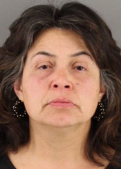 Is the drive-through criminal justice system working for Linda Mendoza? (Santa Maria Police Department photo)