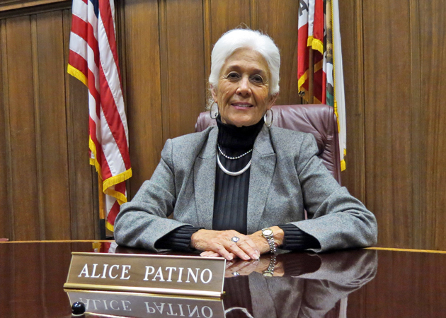 Alice Patino, who will be the first woman to fill the mayor's seat in Santa Maria when she takes over Dec. 18, says her priorities will include attracting new business, removing obstacles to obtain permits and focusing on the Downtown Specific Plan. (Gina Potthoff / Noozhawk photo)